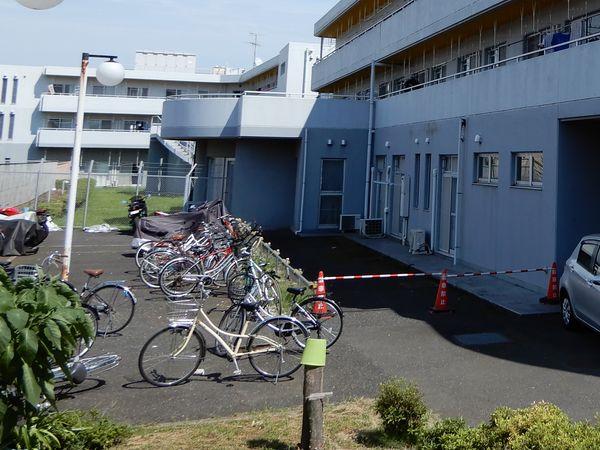トラスティ田無2の駐輪場