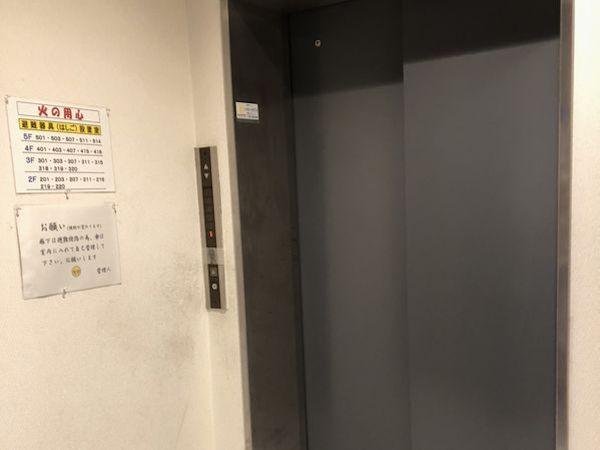 アゼリア葛西のエレベーター