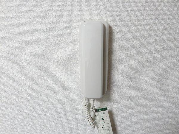 ファーストメープル室内のインターフォン
