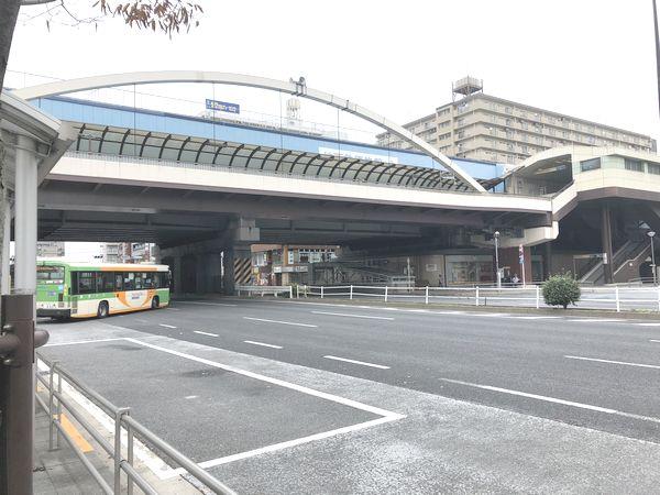 葛西駅前のバス