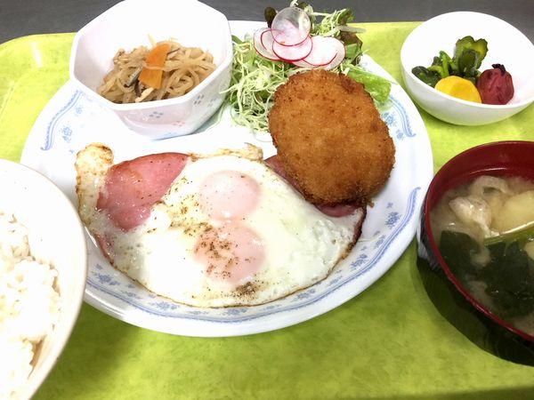 アゼリア葛西の朝食